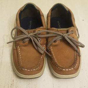 Boys sperry shoes EUC!!